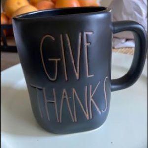 Rae Dunn Give Thanks Mug